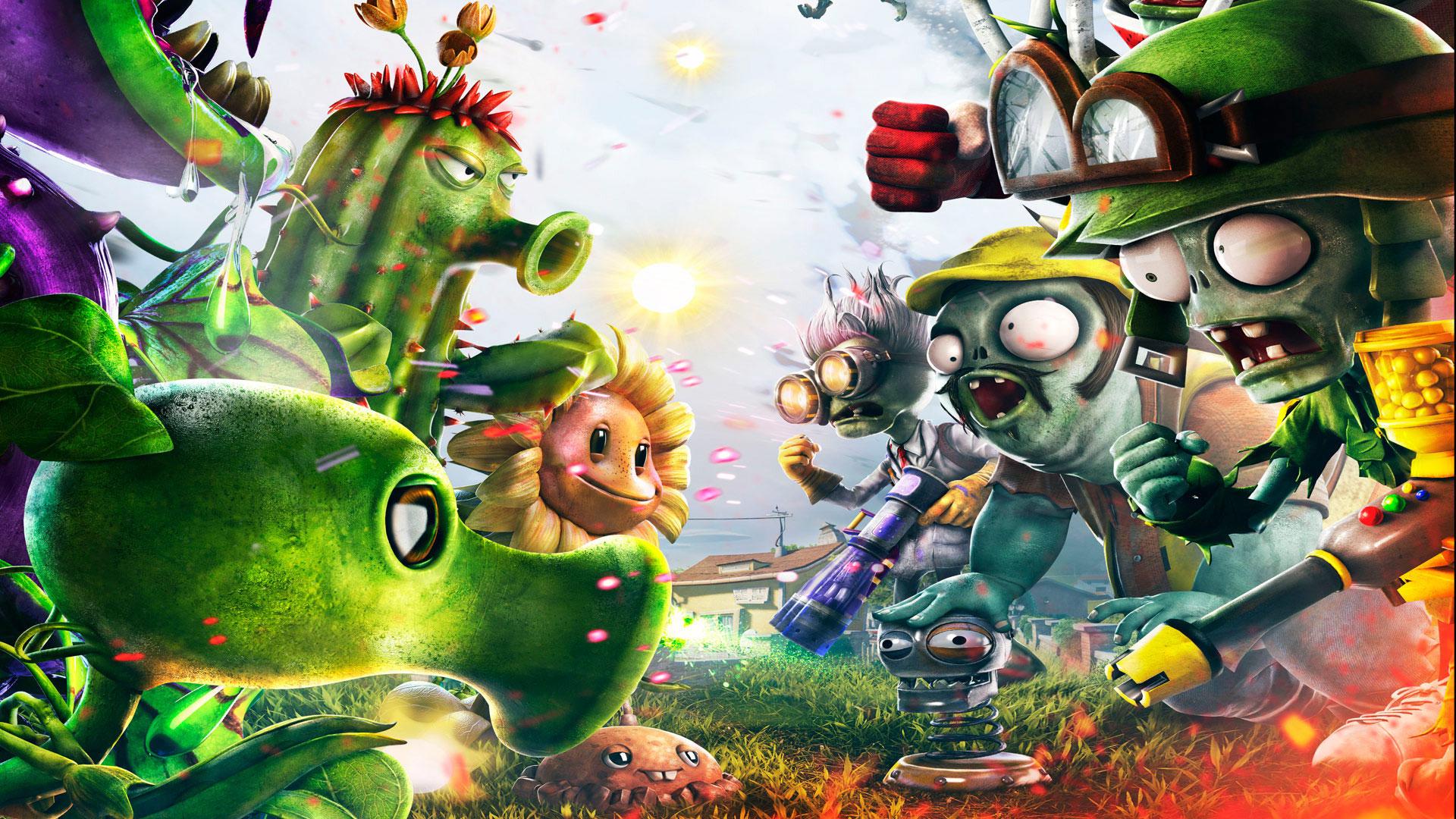 《植物大战僵尸:花园战争》高清壁纸