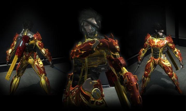 合金装备崛起:复仇红耀战神MOD