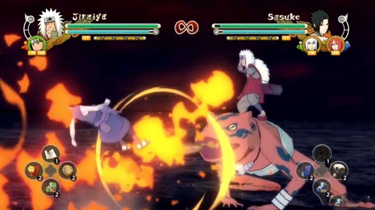 火影忍者:究极忍者风暴3自来也技能强化MOD
