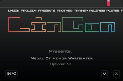 荣誉勋章:战士修改器+9
