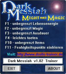 魔法门之黑暗弥赛亚修改器+6