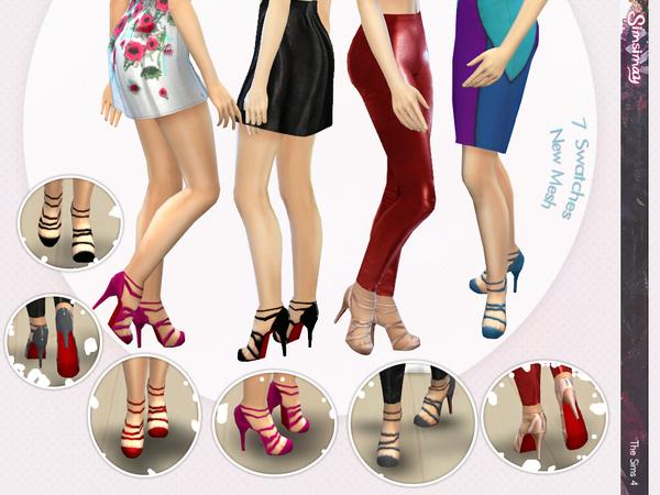模拟人生4女性绝美高跟鞋MOD