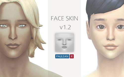 模拟人生4男女面部皮肤美化MOD