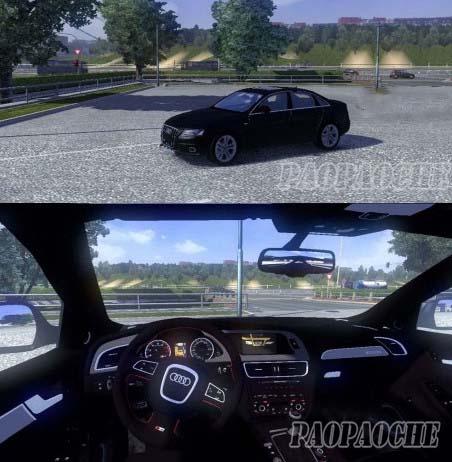 欧洲卡车模拟2奥迪RS4MOD