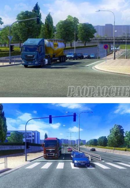 欧洲卡车模拟2新交通等级MOD