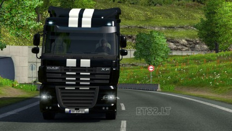 欧洲卡车模拟2悬挂物理MOD