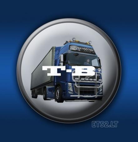 欧洲卡车模拟2司机携工作回程MOD