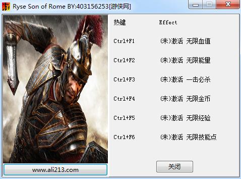Ryse罗马之子中文版修改器+6