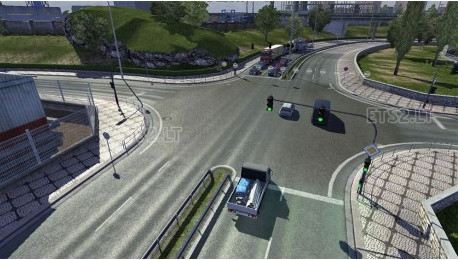欧洲卡车模拟2白天增加交通MOD