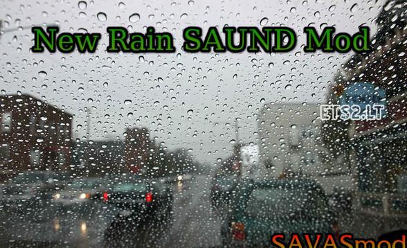 欧洲卡车模拟2新雨声MOD