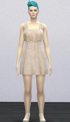 模拟人生4针线连衣短裙MOD