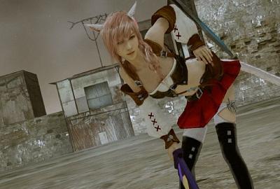 《最终幻想13》CG截图