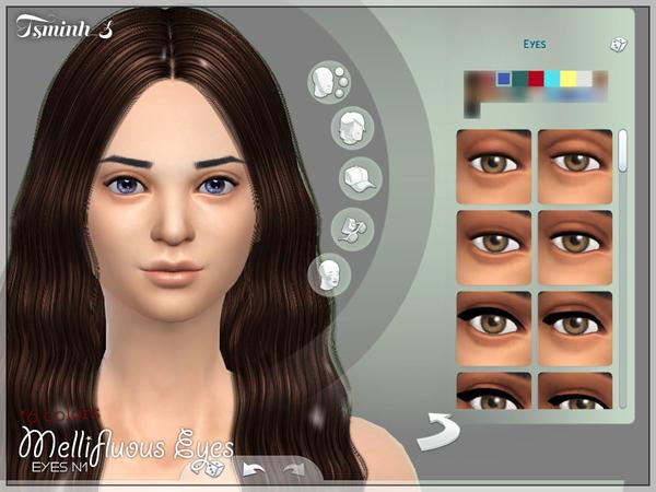 模拟人生4女性绝美美瞳MOD