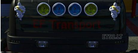 欧洲卡车模拟2Bosch车灯MOD