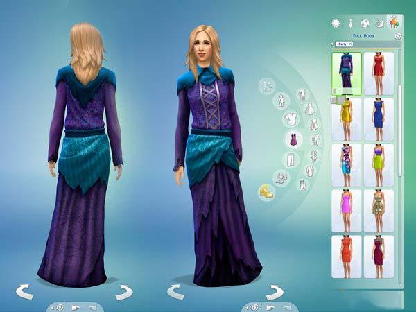 模拟人生4女巫长袍MOD