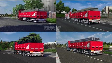 欧洲卡车模拟2Sal拖车MOD
