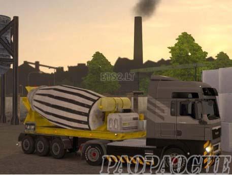 欧洲卡车模拟2混凝土搅拌机MOD