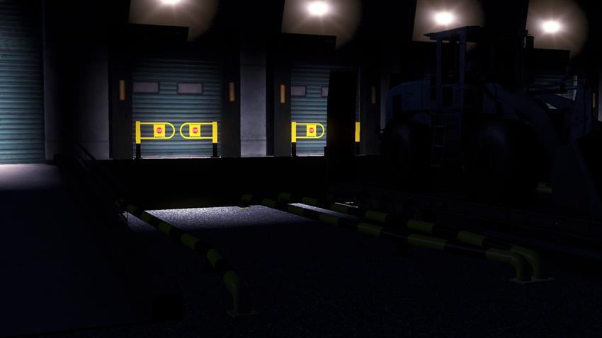 欧洲卡车模拟2新仓库MOD