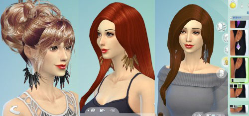 模拟人生4个性化女性耳环MOD