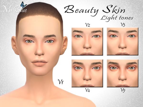 模拟人生4女用美人皮肤MOD