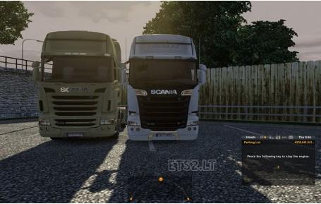欧洲卡车模拟2斯堪尼亚StreamlineV8声音MOD