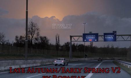 欧洲卡车模拟2晚秋早春MOD