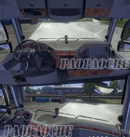 欧洲卡车模拟2DAFEuro6座椅调节无限制MOD