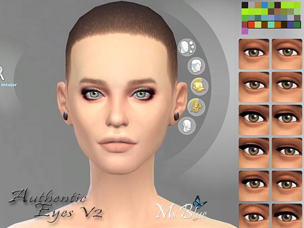模拟人生4真实彩色美瞳MOD
