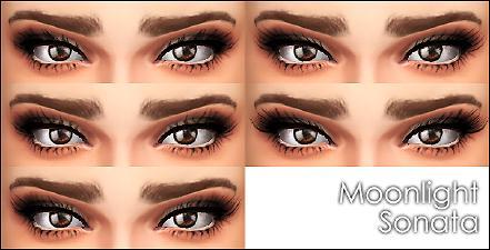 模拟人生4女性电眼睫毛MOD