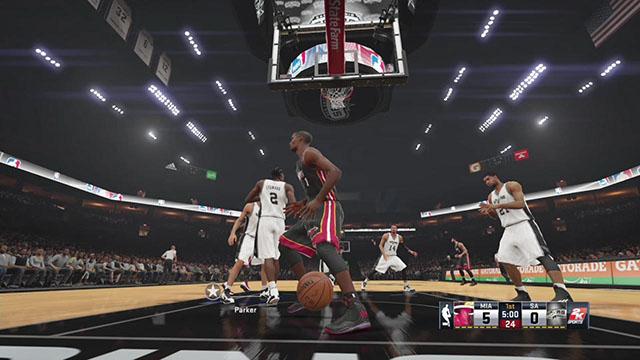 NBA 2K15截图5