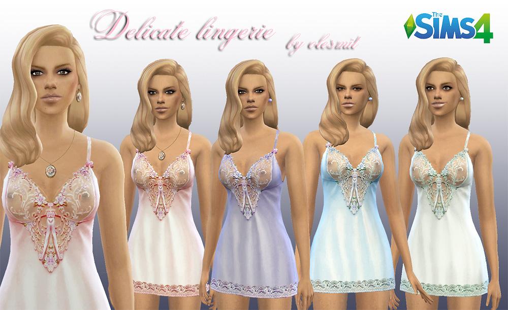模拟人生4美女性感睡衣MOD