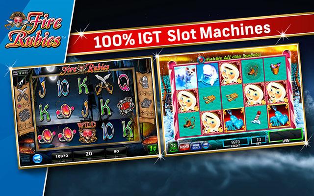 IGT游戏机:火红宝石