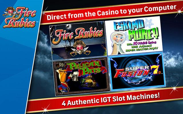 IGT游戏机:火红宝石截图1