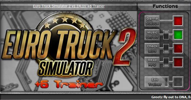 欧洲卡车模拟2v1.14.1s修改器+6