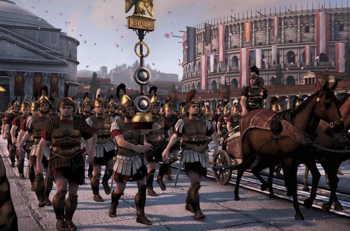 罗马2:全面战争-帝皇版敌我均无弹药MOD