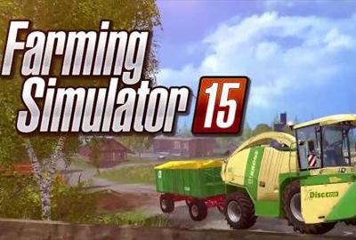 《模拟农场15》发售预告欣赏 大型机车随便开