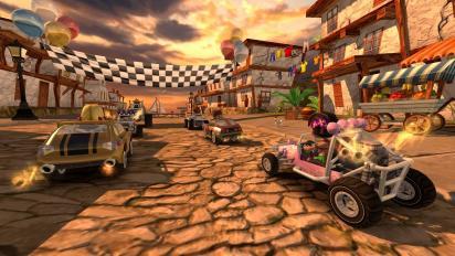 沙滩赛车竞速v1.1截图0