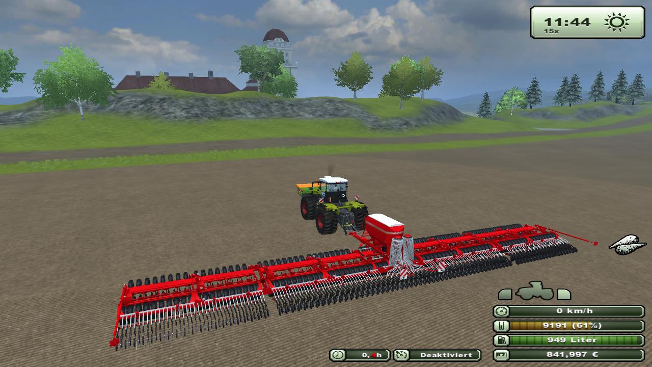 《模拟农场15》属于模拟经营类单机游戏