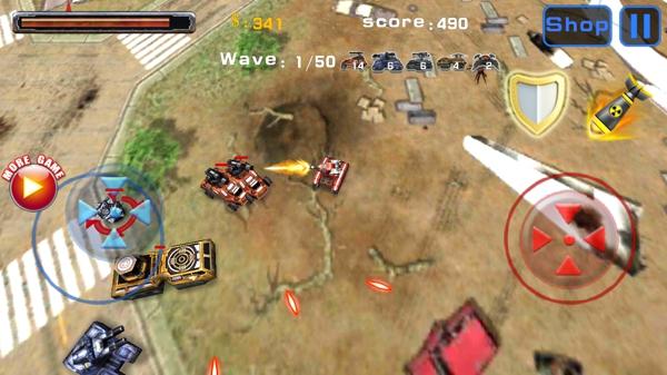 坦克大乱斗v1.0截图1