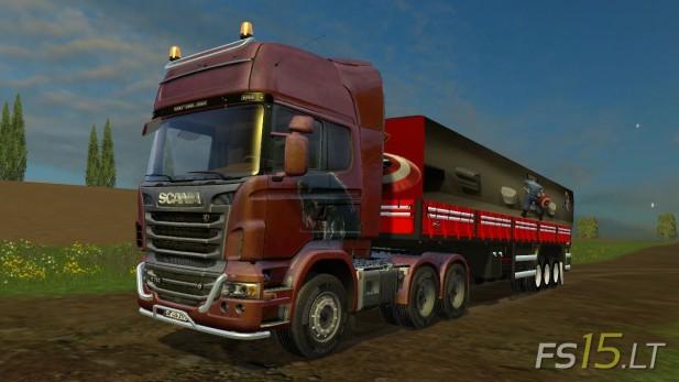 模拟农场15新式卡车MOD