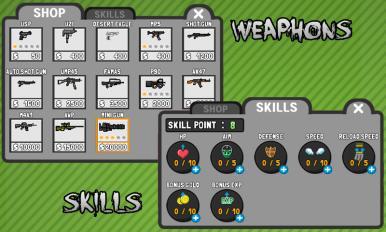 火柴人枪手v1.4.1_截图1