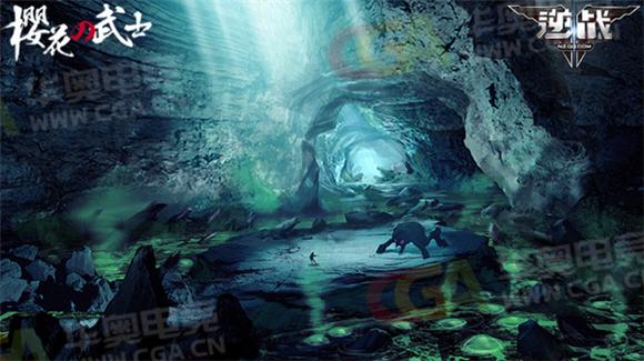 櫻之城之恐怖山洞場景原畫 恐怖山洞場景介紹:沿著山中的采礦通道向前,是另一條通向城堡的小路。狹窄的礦道里擠滿了瘋狂的礦工,手持劇烈的炸藥。礦道里竟然還有現代的機械閘門和電燈。在礦井深處,是一座經過改造的監獄,獄中蹲著一頭惡臭的大家伙。