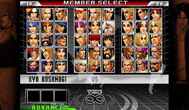 拳皇98:终极之战最终版截图3