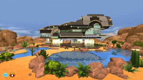 模拟人生4 宇宙飞船MOD
