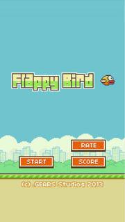 flappy bird电脑版_截图0