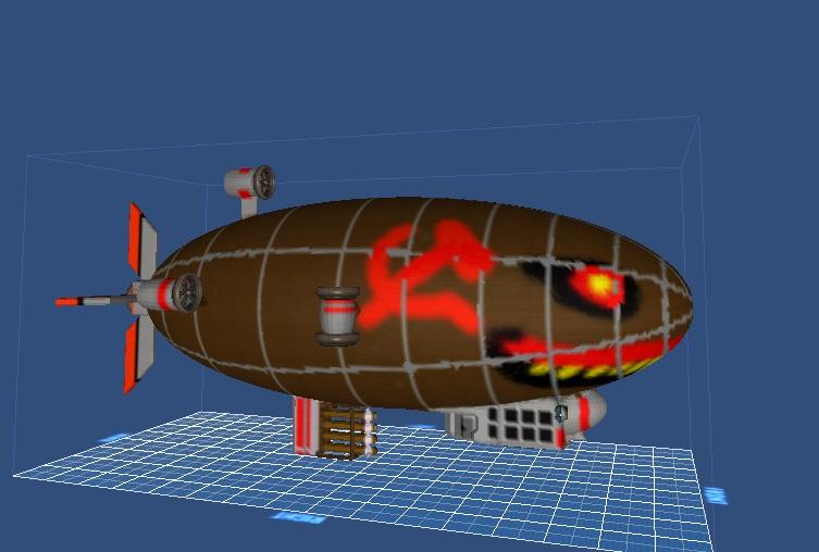 星球探险家红色警戒基洛夫空艇MOD