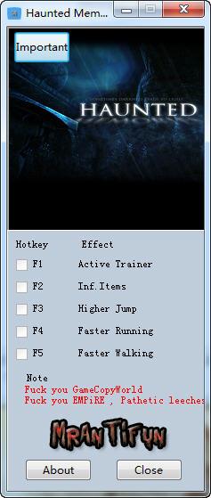 灵异猎人修改器+4