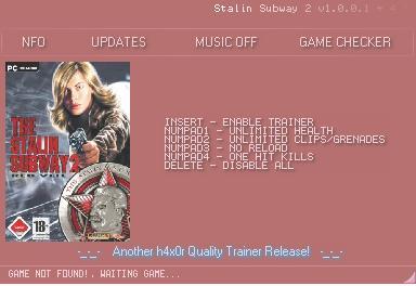 斯大林地铁2:红面纱修改器+4