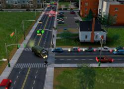 模拟城市5绿色垃圾车MOD