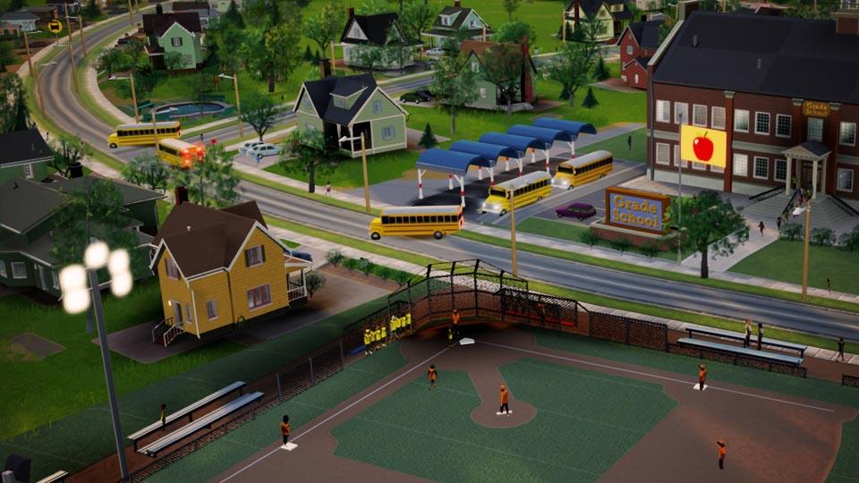模拟城市5校车增加客容量MOD